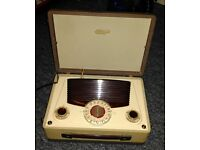 VIDOR 430 Vintage Retro Radio - Great condition, fully working