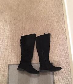 Western Knee Boot