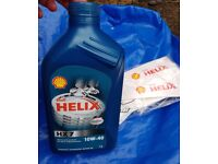 Shell Helix HX7 10W-40 - 1L Oil in a Shell Zip Bag - Collect Only Stockport