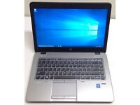 "HP ELITEBOOK 840 G1 14"" ULTRABOOK,CORE I5-4310U 2.0GHZ,1TB HYBRID HDD,8GB RAM,WIN 10,GOOD CONDITION"