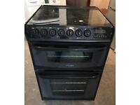 CANNON HENLEY 60CM WIDE GAS & ELECTRIC COOKER WHITE EXCELLENT CONDITION, 4 MONTH WARRANTY