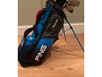 Ping Hoofer G Limited Edition Golf Stand Bag Excellent Condition