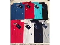 Ralph Lauren polo's (8 colours available) sizes S/M/L/XL/2XL