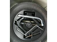 SPACESAVER SPARE TIRE AND WHEEL COMPLETE WITH JACK KIT