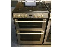 £190 Belling 60cm Ceramic Cooker – 12 Months Warranty