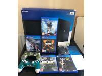 PlayStation 4 Pro 1TB like new