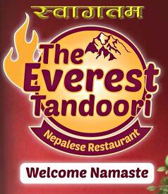 The everest Tandoori Nepalese restaurant