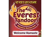 The everest Tandoori Nepalese restaurant