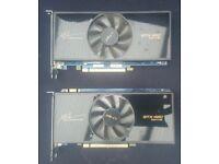 2 x PNY GTX460 1GB graphics cards