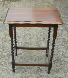 Oak occasional / side table c1940s
