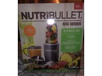 Brand new Nutribullet 600 series