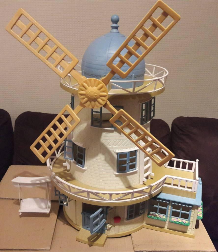 Sylvanian families windmill & Accessories