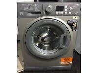 HOTPOINT 7kg grey washing machine 1400 spin £130 free delivery & installation