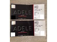 2 x Adele tickets Saturday 1st July!