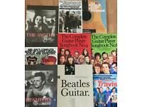 9 Guitar books, used but reasonable condition