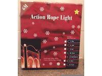 ROPE LIGHTS - TOTAL 22 Metres / 3 x 6 Metre. & 2 x 2 Metre. Multi Colour. SEE DETAILS