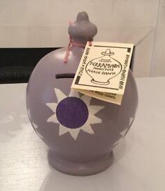 Terramundi purple money pot savings jar BNWT RRP £22 ideal gift