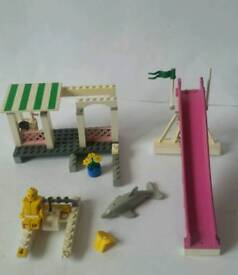 Vintage lego - With slide and dolphin