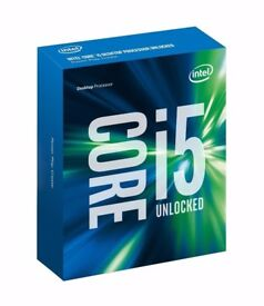 Intel I5 skylake 6600k 3.5ghz Processor