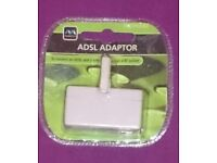 A brand new, sealed Masterplug ADSL Adapter