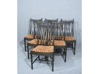 Set Of 6 Ercol Windsor Penn Dining Chairs Table Available Seperately