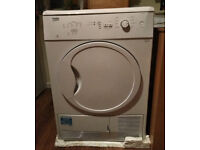 Tumble Dryer Beko DC7112W 7kg Freestanding Condenser Tumble Dryer White