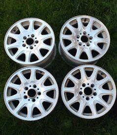 BMW Alloy wheels E36, E46, E90, 3 Series, 16 inch