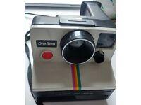 Polaroid OneStep SX-70 Instant Camera Vintage 1970's