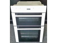BEKO USED BUILT-IN DOUBLE OVEN + FREE BH ONLY POSTCODES DELIVERY, INSTALLATION & 3 MONTHS GUARANTEE