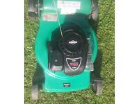 Qualcast 46mm Self Propelled with Briggs & Stratton 450 series petrol lawnmower