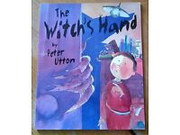 The Witches Hand by Peter Utton. Children's book.