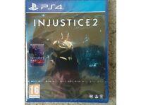 injustice 2 game unopened