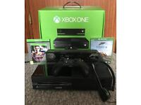 Xbox One 500GB with Kinect & 2 games