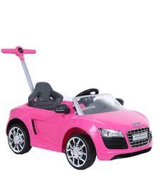 Audi baby car pink