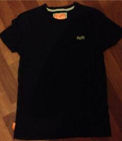 Mens Superdry top size large