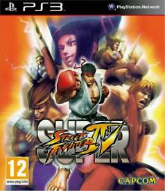 Street Fighter IV (4) (12) Gaming /Playstation3 Games