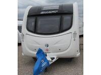 SWIFT CHALLENGER 565 2011 *FIXED SINGLE BEDS* 4 BERTH CARAVAN
