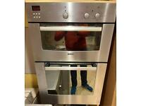 Bosch Double oven and grill