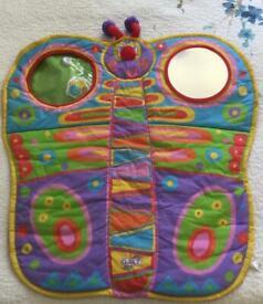 GALT Tummy-time playmat and caterpillar pillow