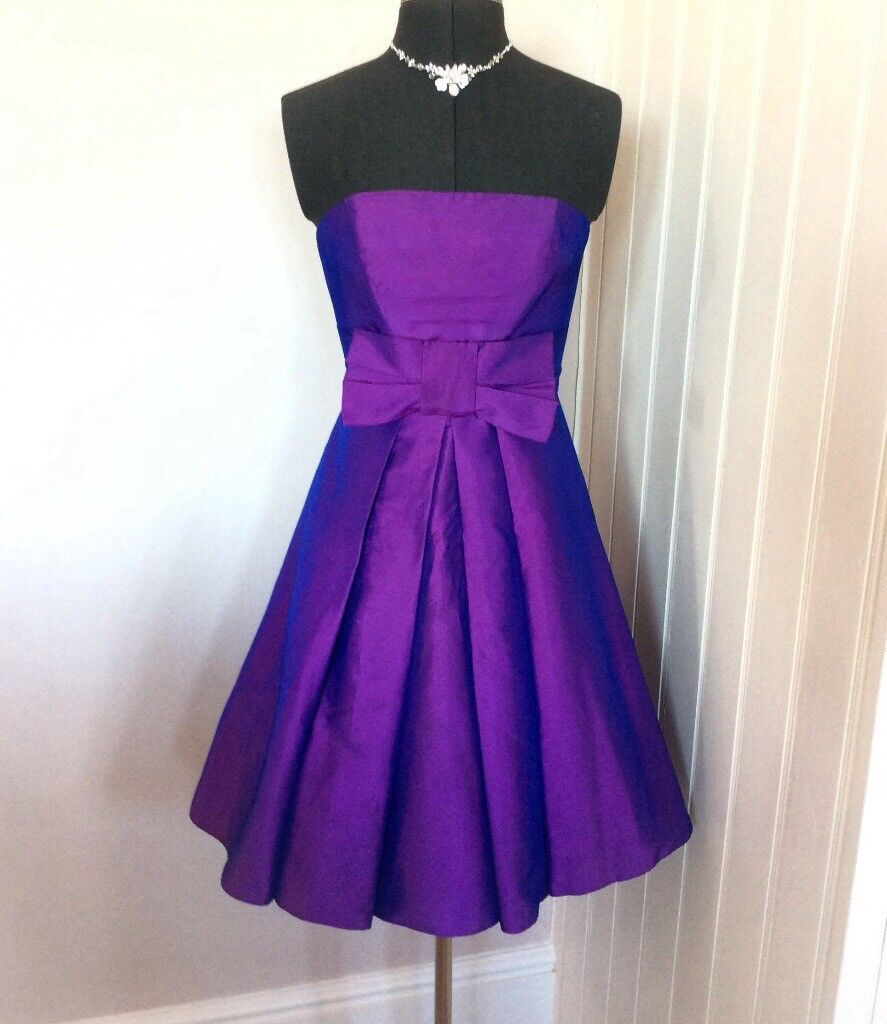 Short Prom Party Bridesmaid Dress Wedding Guest Dress Size 8 | in ...