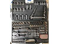 Halfords Advanced socket set spanners