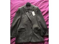 Burberry tweed blazer