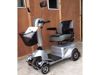 Quingo Plus full suspension 8mph large pavement mobility scooter