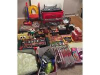 Job Lot Household Goods, Car Boot, Inc Xbox 360, Toys, Turtle Lamp, Curtains.