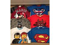 Boys T-shirt bundle Age 7