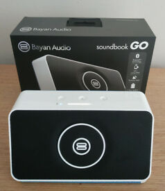 Bayan Audio Soundbook GO - Bluetooth portable stereo speaker, NFC pairing, white, boxed