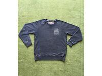 Men's Blue Ted Baker Sweatshirt Size 3/M