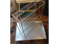 Habitat chrome dish rack / draining board