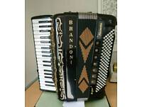 Brandoni 120 Base accordion