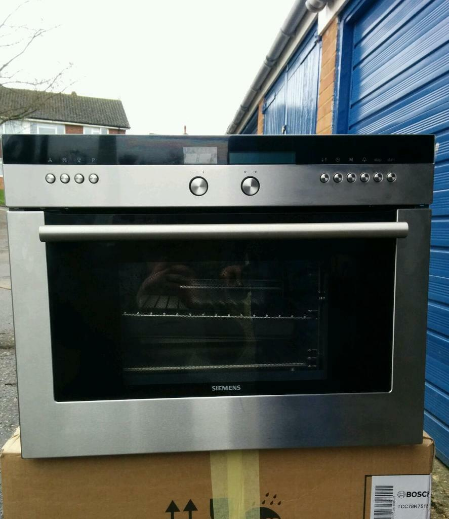 Siemens Hlhb36 Integrated Steam Oven In Sevenoaks Kent